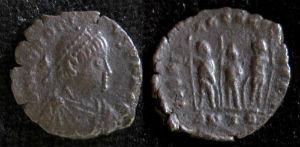 Honorius AE 1