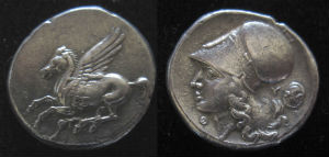 Thyrrheion stater new