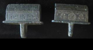 chariot fittings smaller pair