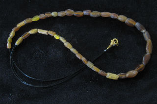 amber necklace small