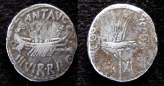 leg XI denarius