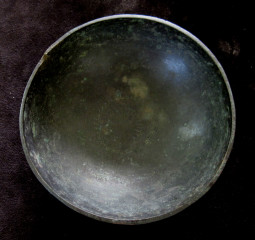 bronze bowl inside