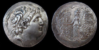 antiochos vii tetradrachm small
